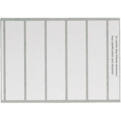 Leitz etiquettes d'inscription orgacolorplus pour imprimante