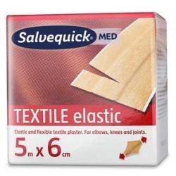 Cederroth salvequick textilpflaster, elastisch, 60 mm x 5 m