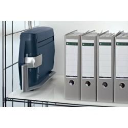 Leitz machine à relier impressbind 140, bleu/argent, manuel,