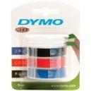 Dymo ruban pour étiqueteuse, largeur de 9 mm, longueur de 3m
