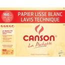 Canson papier de dessin technique, 240 x 320 mm, 160 g/m2