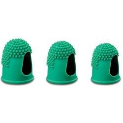 Läufer doigtier, taille 2, diamètre: 15 mm, vert