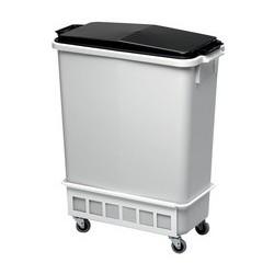 Durable chariot durabin trolley 60, couleur: blanc