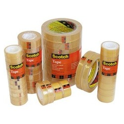 3m scotch ruban adhésif 508, transparent, 19 mm x 66 m