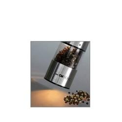 Clatronic moulin à poivre/moulin à sel psm 3004n, acier inox