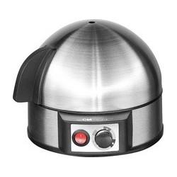 Clatronic cuiseur à oeufs ek 3321, inox/noir,