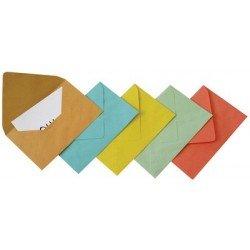 Gpv  enveloppes, c6, 114 x 162 mm, bleu, gommé