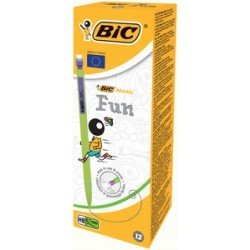 Bic portemine matic fun, épaisseur du mine: 0,7 mm (LOT DE 12)