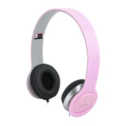 Logilink headset high quality, mit ohrpolster, pink
