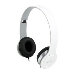 Logilink headset high quality, mit ohrpolster, weiß