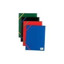 Elba chemises standard, format a4, en pp, rouge