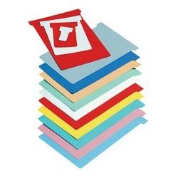 Nobo fiche t, indice 4 / 124 mm, 170 g/m2, rouge