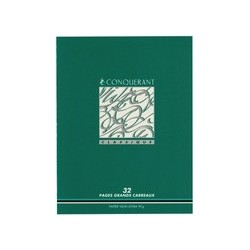 Conquerant classique cahier, seyes, 96 pages, 170 x 220 mm