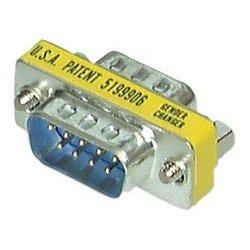 Gender changer, 9 pol sub-d stecker - 9 pol sub-d kupplung