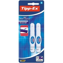 "Tipp-ex stylo correcteur ""mini shake'n squeeze"""