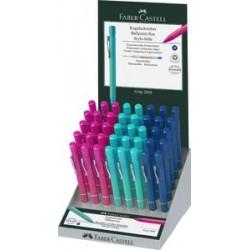 Faber-castell stylo à bille rétractable grip 2010, dans un