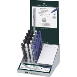Faber-castell stylo à bille rétractable grip 2011 xb, dans