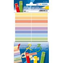 Herma  étiquettes pour crayons home, 46 x 10 mm, couleurs