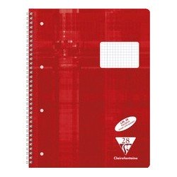 Clairefontaine cahier spiralé, a4, uni, 160 pages