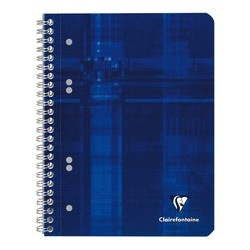 Clairefontaine cahier spiralé, a5, ligné 8 mm, 160 pages