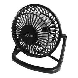 Logilink mini ventilateur usb pour notebook, noir