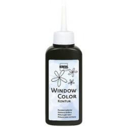 Kreul window color peinture de contours, or-scintillant,80ml