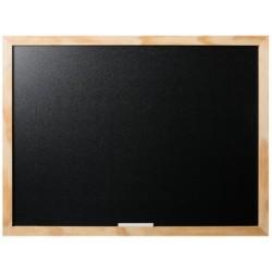 Bi-office tableau noir optimum, 600 x 450 mm, cerisier