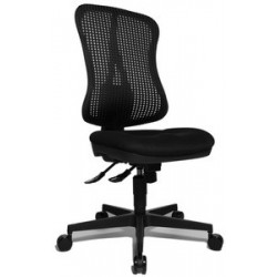 "Topstar chaise tournante de bureau ""head point sy"", noir"