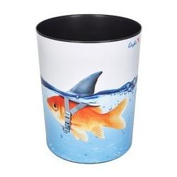 """Läufer corbeille à papier """"requin doré"""""""
