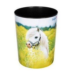 """Läufer corbeille à papier """"cheval dans un champ de colza"""""""