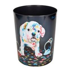 """Läufer corbeille à papier """"chien multicoloré"""""""
