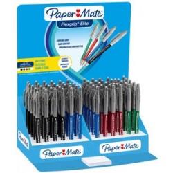 Paper:mate stylo à bille flexgrip elite, dans un présentoir