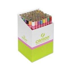 Canson papier de soie, 0,5 x 5,0 m, 20 g/m2, présentoir