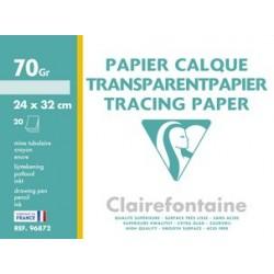 Clairefontaine papier calque, 240 x 320 mm, 70 g/m2