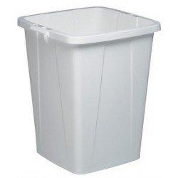 Durable couvercle durabin lid 90, carré, gris
