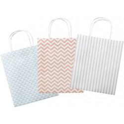 Folia sacs en papier basic, papier kraft, 180 x 80 x 210 mm