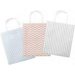 Folia sacs en papier basic, papier kraft, 120 x 55 x 150 mm