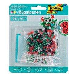 Folia set de perles à repasser fun - cercle