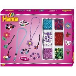 "Hama perles à repasser midi ""boîte bijoux 2"", coffret cadeau"