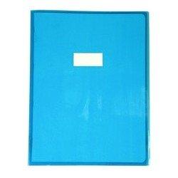 Calligraphe protège-cahier, 240 x 320 mm, blau transparent (LOT DE 10)