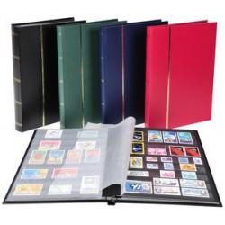 Exacompta album de timbres, 225 x 305 mm, 16 pages, noir