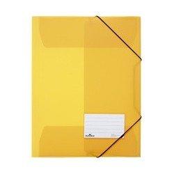 Durable chemise à élastiques, a4, pp, jaune