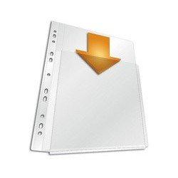 Durable pochette transparente maxi, a4, pp, transparent