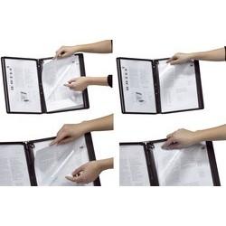 Durable plaque pochette function, a4, transparent (LOT DE 5)