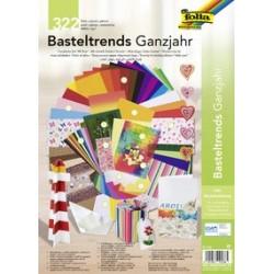"""Folia kit de bricolage de papier """"tendance"""" toute l'année"""