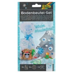 Folia kit de sachets christmas time, 145 x 235 mm