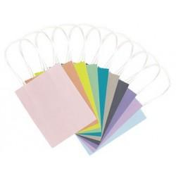 """Folia sacs cadeaux """"trend"""", papier kraft, 120 x 55 x 150 mm"""
