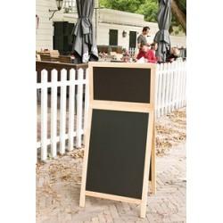 Securit panneau trottoir deluxe top board, couleur hêtre
