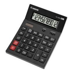 Canon calculatrice de bureau as-2200, énergie solaire/ pile