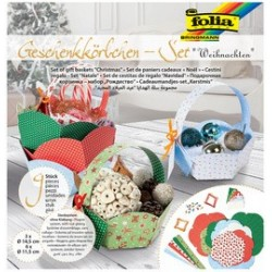 "Folia set paniers cadeaux ""noel"""